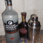 We like Russian Standard vodka.