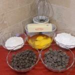 I love dark chocolate. The original recipe only called for semi-sweet chocolate.