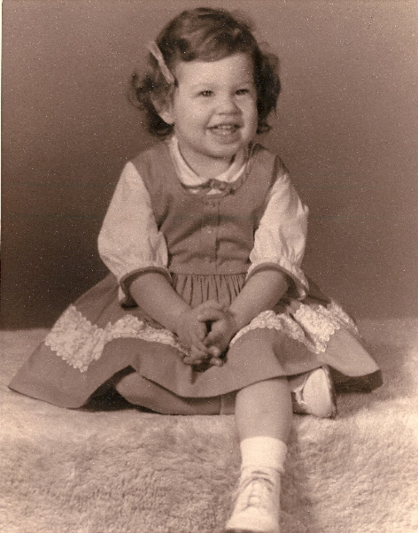 Diane, 50 years ago in 1963.