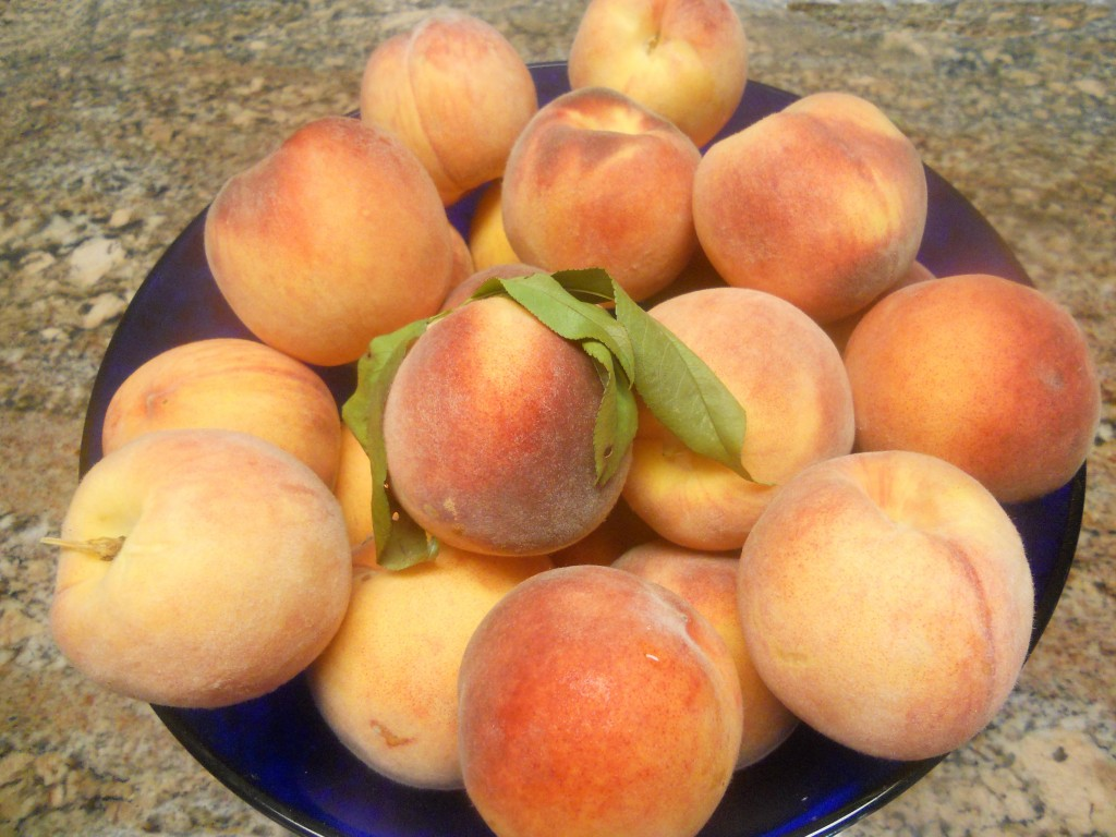 August is National Peach Month.