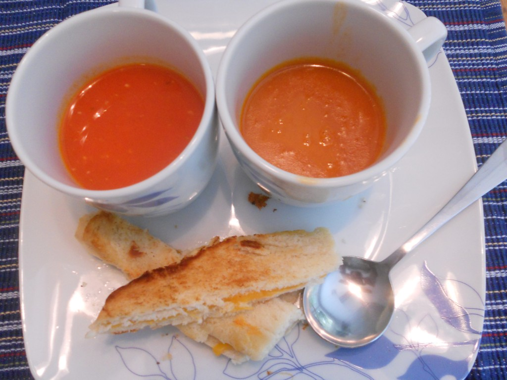 We have a winner in Battle: Tomato Soup!