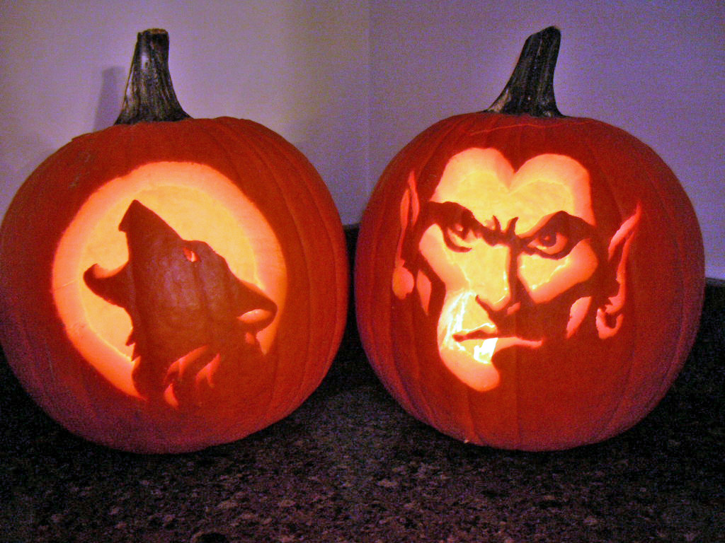 Halloween, 2008 pumpkins