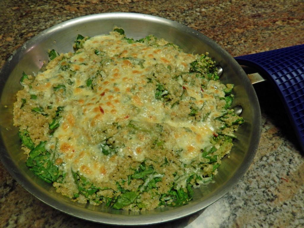 Broccoli & Spinach Quinoa