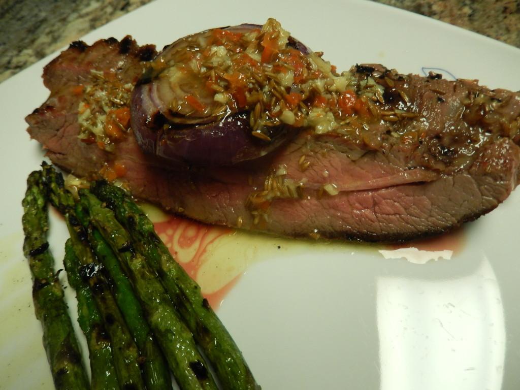 Mojo-Marinated Flank Steak
