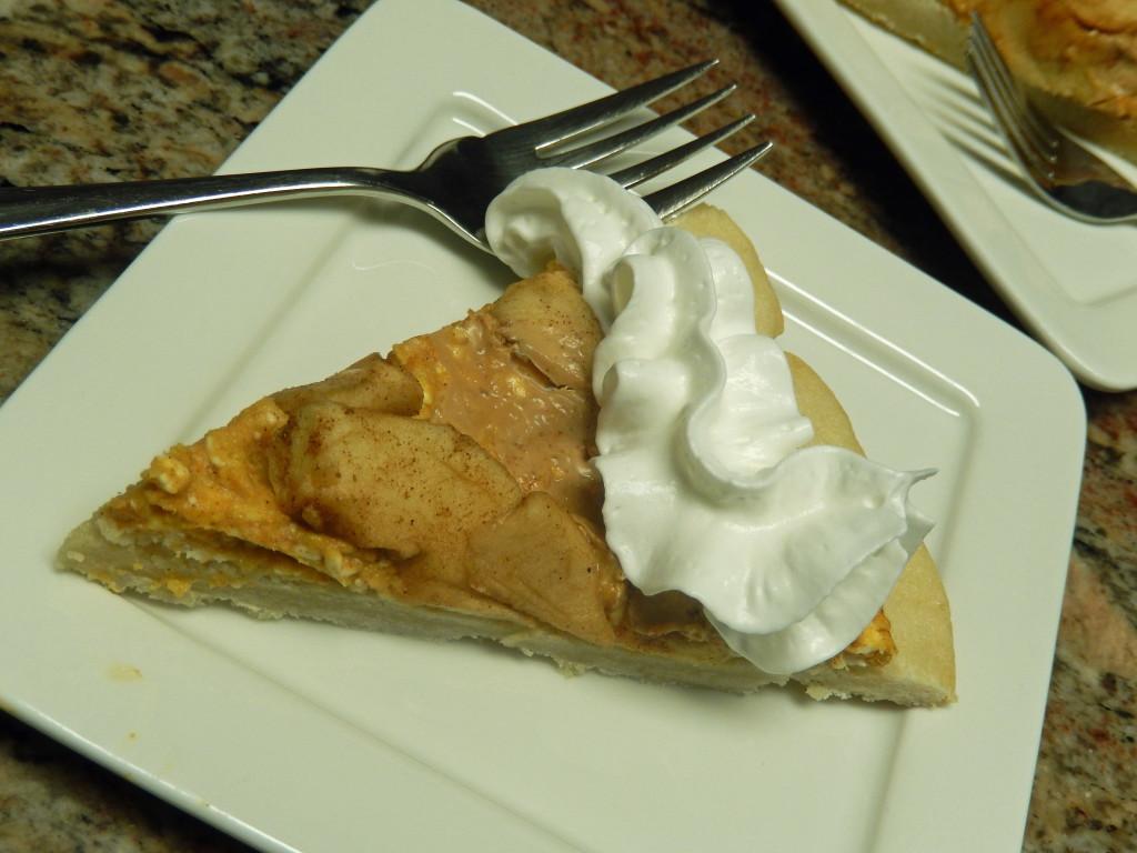 Pumpkin & Apple Dessert Pizza