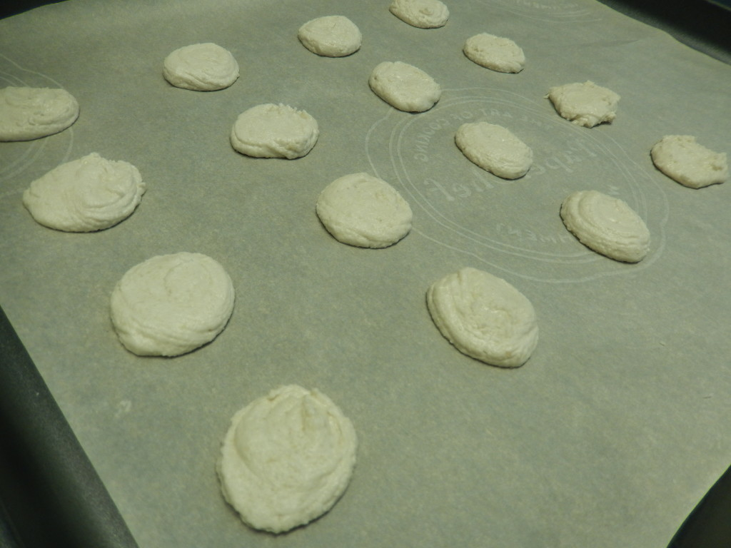 Allow the shells to rest before baking.