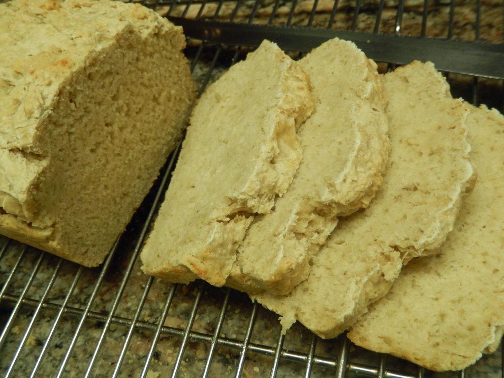 Rosemary Cheddar Beer Bread