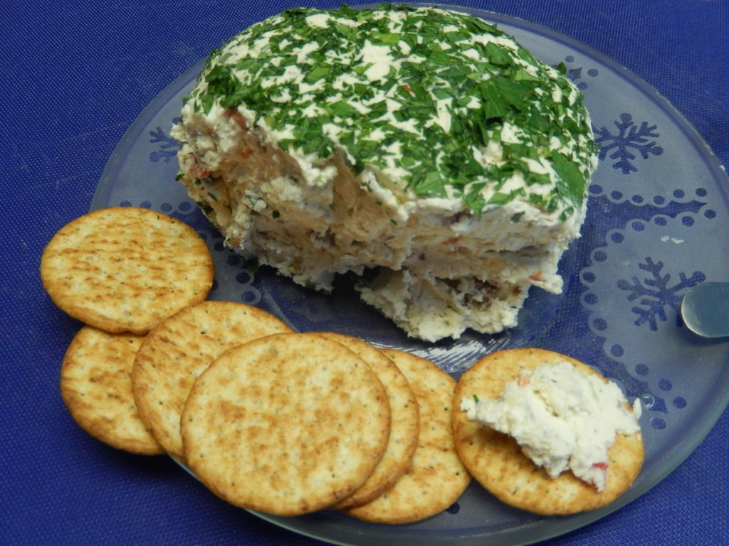 A New Year's Appetizer – Feta & Red Pepper Cheese Ball ...