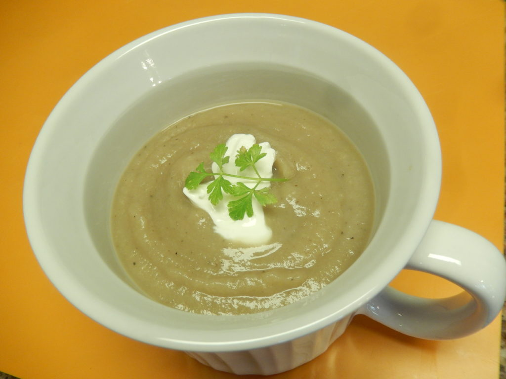 Parsnip & Chestnut Soup