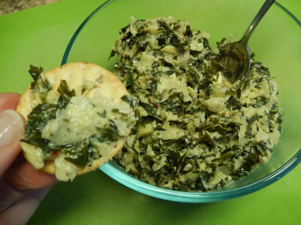 Boursin Spinach & Artichoke Dip